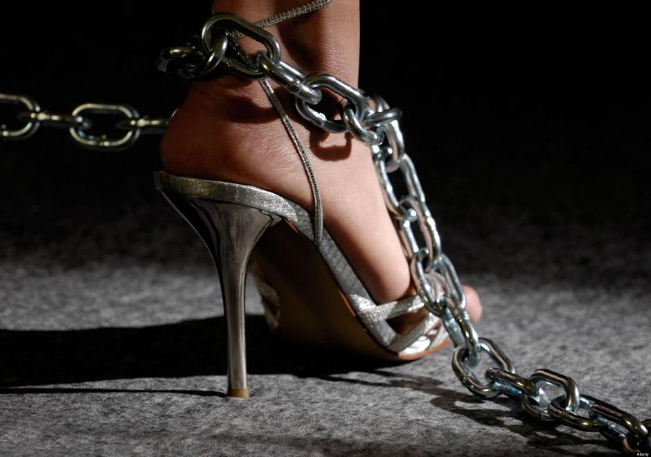 atadura cadena-zapato