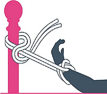 nudo bondage el palenque, paso dos