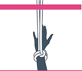 nudo bondage alondra a cabeza, paso uno