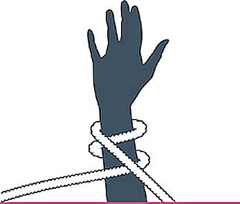 nudo obi, segundo paso