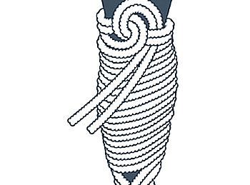nudo bondage la cola de la sirena, décimo paso
