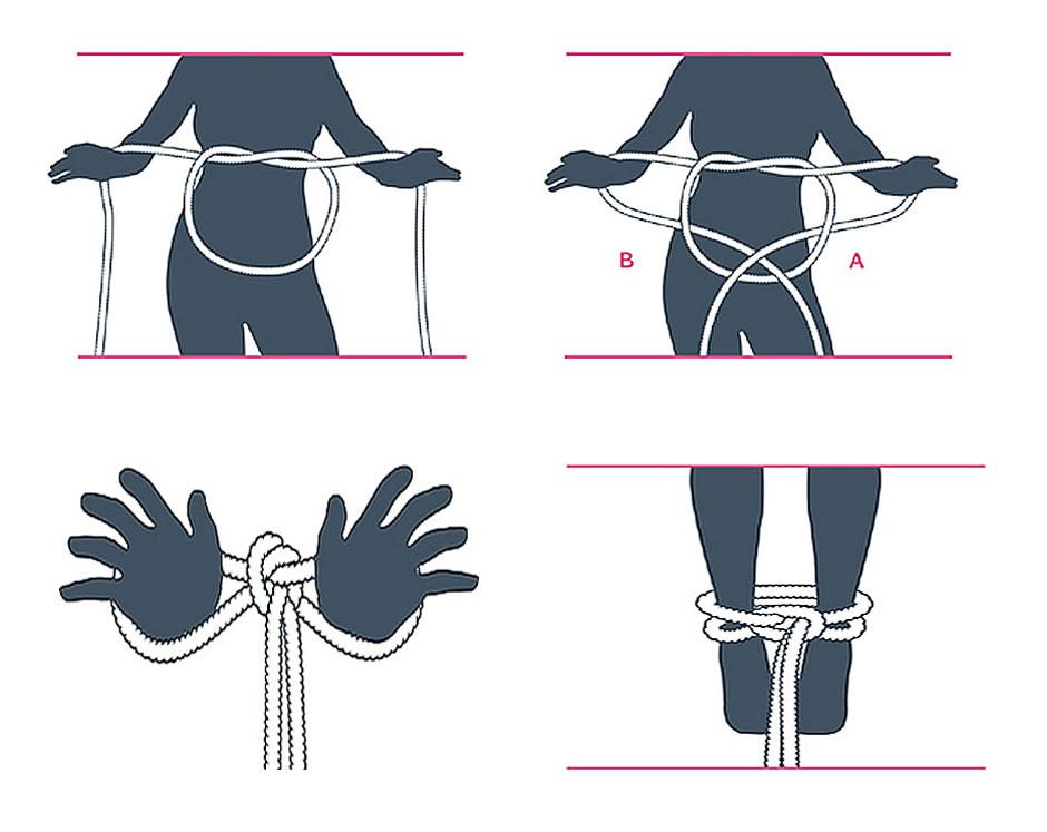 nudo bondage la atadura del incauto