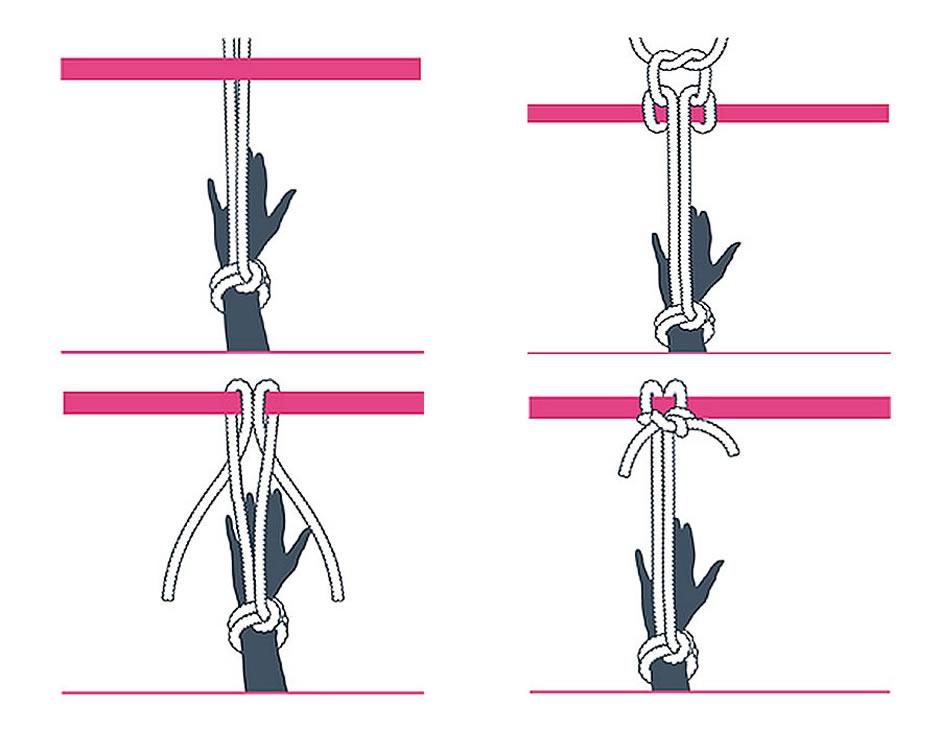 nudo bondage cabezal de la alondra