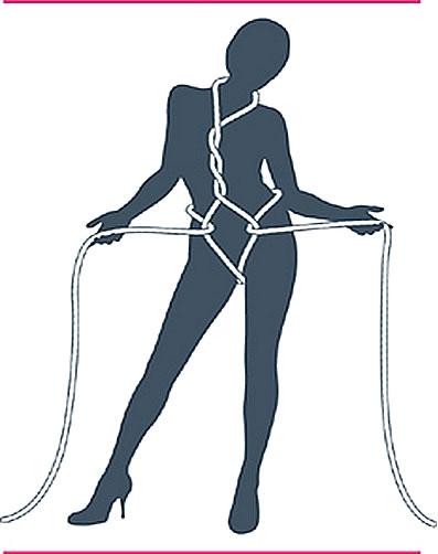 nudo bondage cofre del tesoro paso cuatro