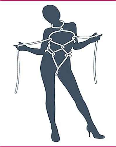 nudo bondage cofre del tesoro paso seis
