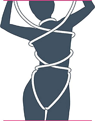 nudo bondage cofre del tesoro paso siete